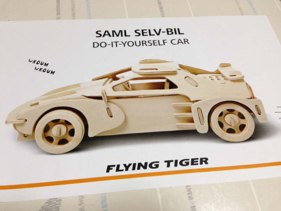 フライングタイガー・DO-IT-YOURSELF CAR