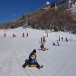 御在所スキー場・ちびっこそりゲレンデ