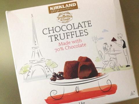 コストコ・カークランド・チョコレート・トリュフ