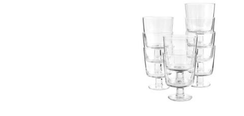 IKEA 365+ ワイングラス, クリアガラス