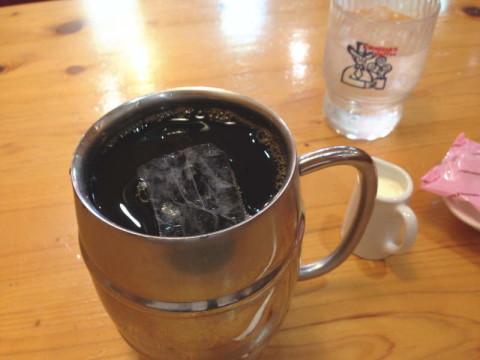 たっぷりアイスコーヒー